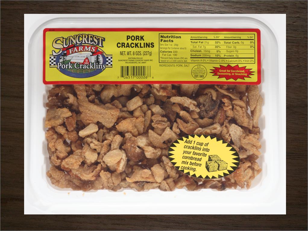 Suncrest Farms Pork Cracklins